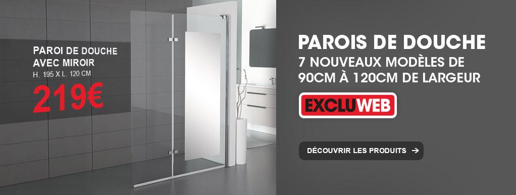 Brico d p t magasin de bricolage prix d p t for Paroi de douche 90x90 brico depot