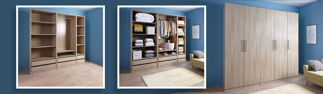 dressing rangement brico d p t. Black Bedroom Furniture Sets. Home Design Ideas