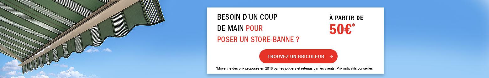 Store Banne Manuel Ou Motorisé Store Bane Double Pente