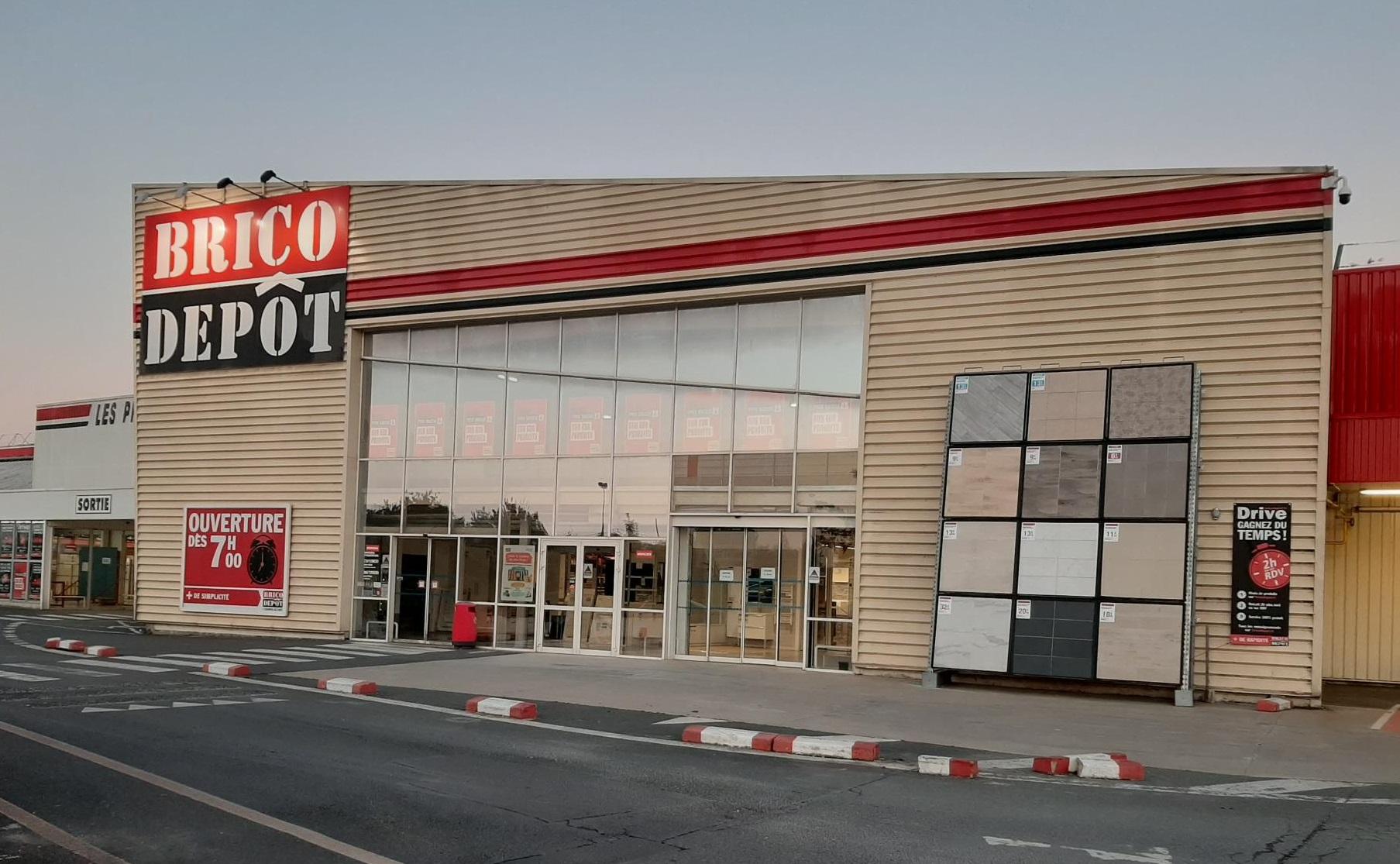 Ouverture Brico Depot Melun