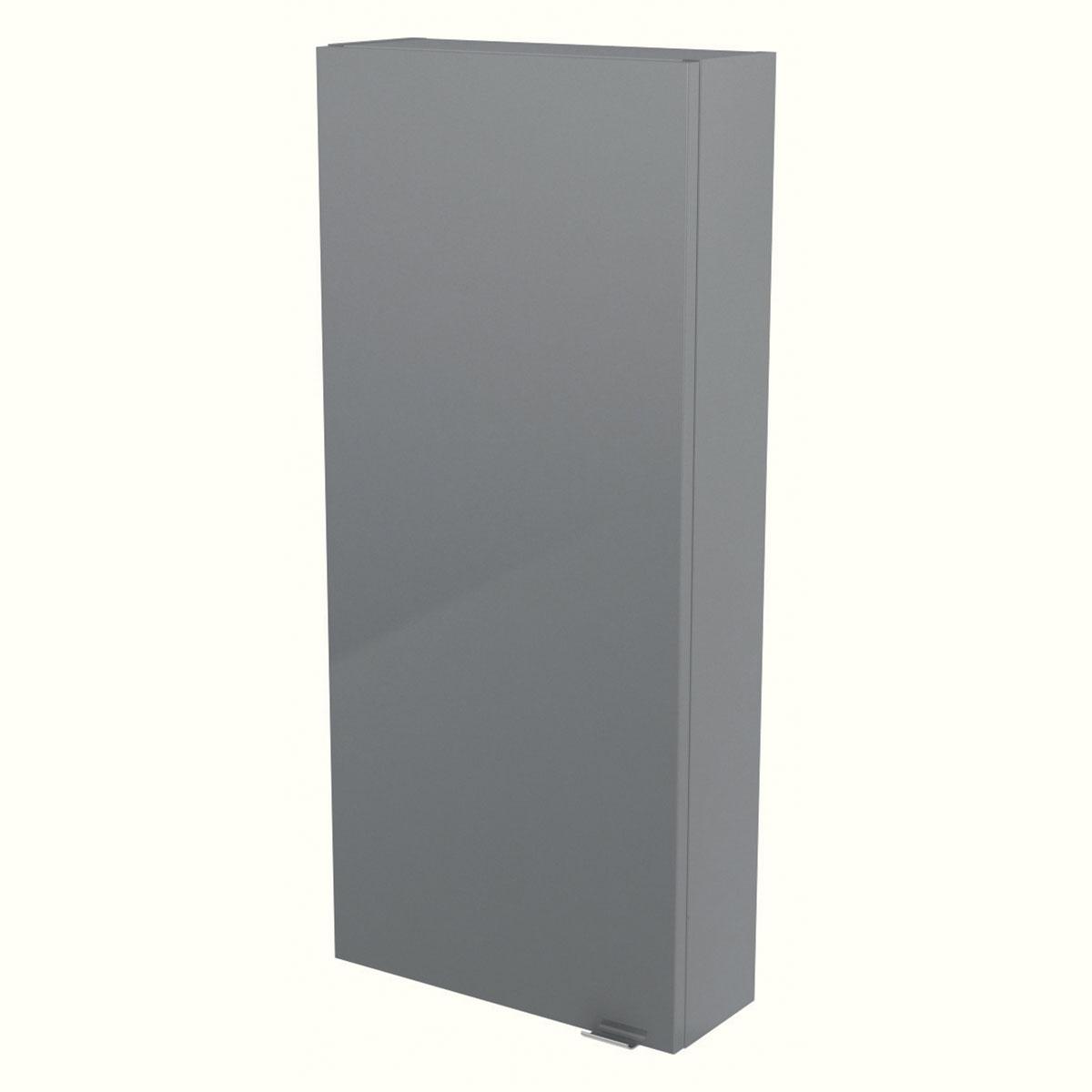Meuble colonne gris Imandera