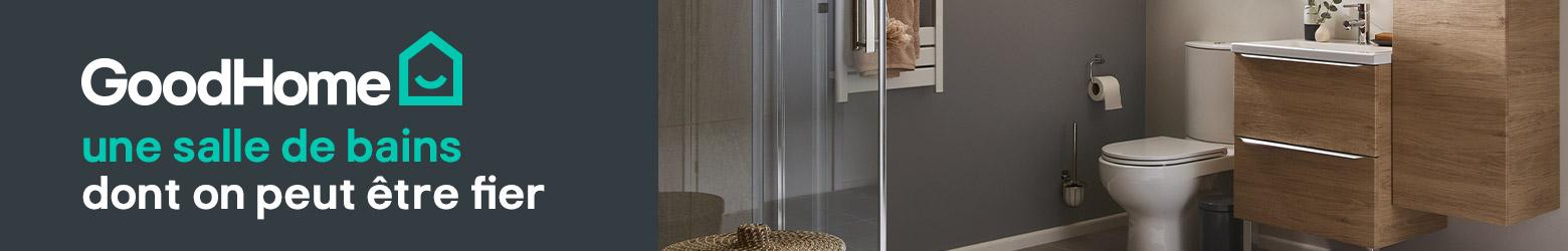 Miroir de Salle de bains led, lumineux & mural - Brico Dépôt