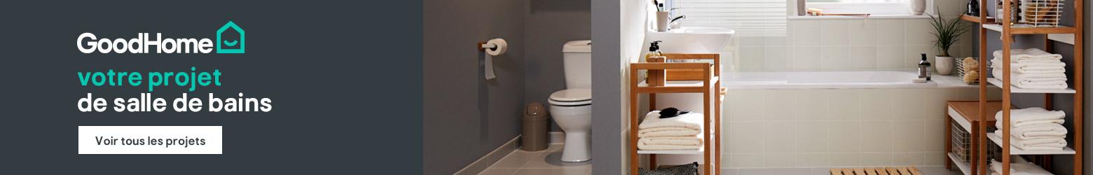 Modèles de salle de bains moderne, design pour bain & douche - Brico ...