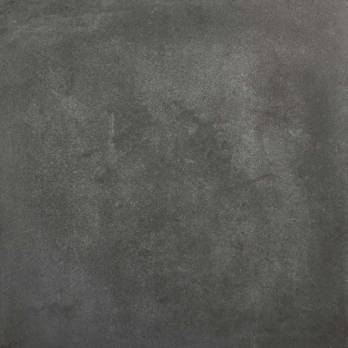 """Carrelage de sol intérieur grès cérame émaillé """"Konkrete"""" anthracite 42,6 x 42,6 cm"""