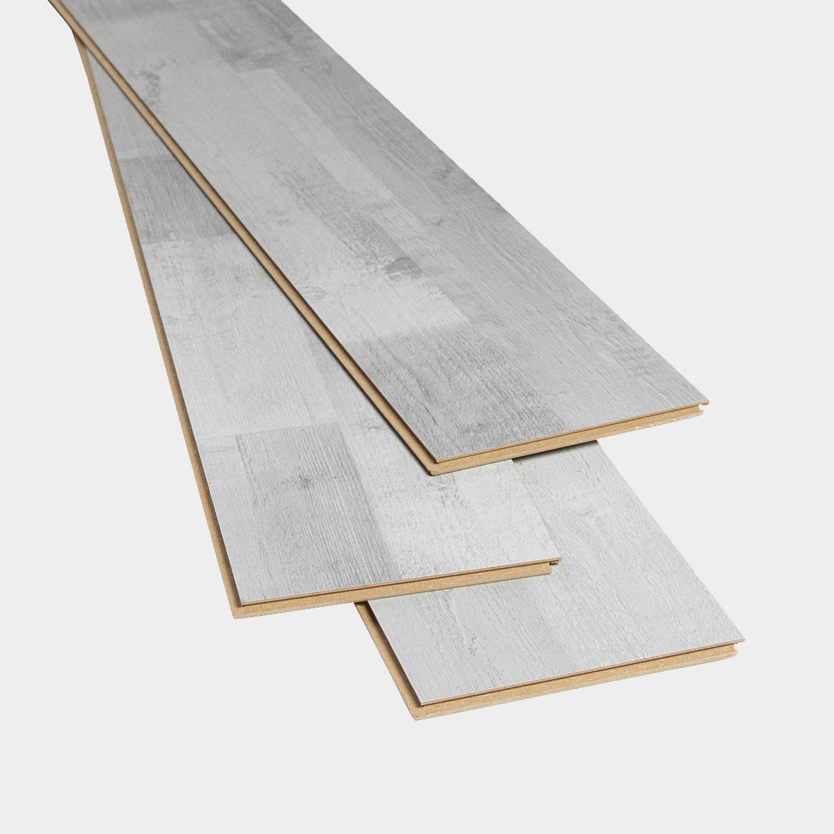 Sol stratifié à clipser Rockhampton L. 138 x l. 19 cm