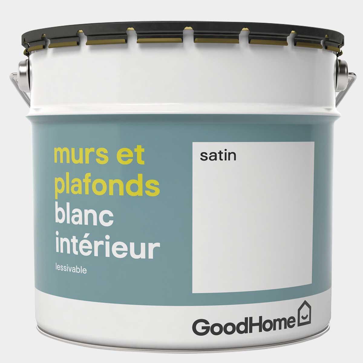 Peinture blanche satin