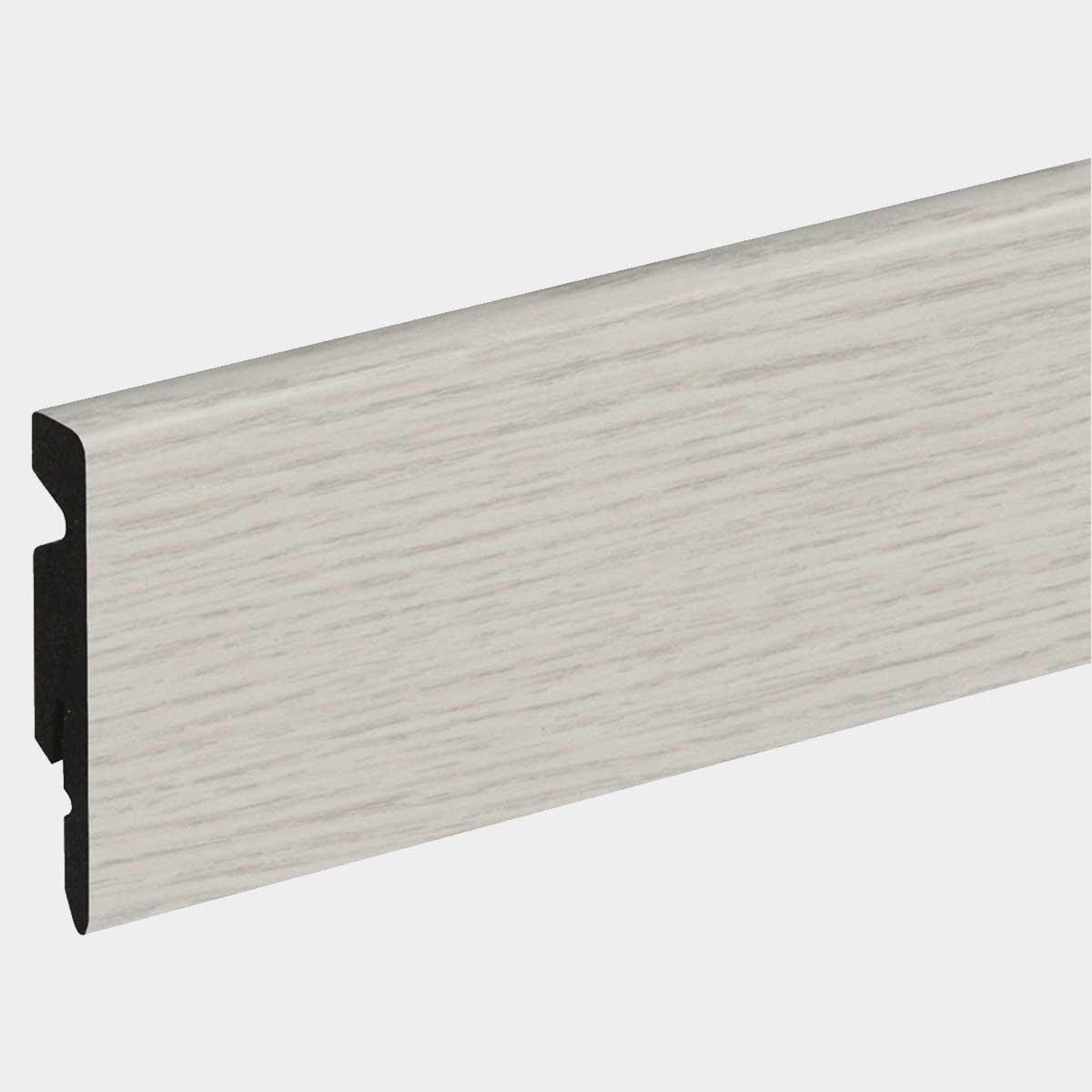 Plinthe PVC blanc
