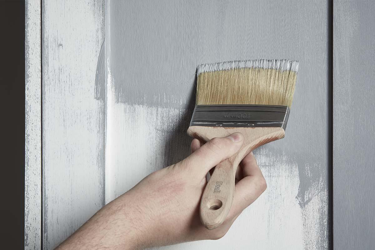 Rénovation d'une chambre avec revêtement sol et peinture intérieure GoodHome