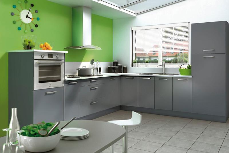Mod le de cuisine moderne et quip e brico d p t - Brico depot catalogue cuisine equipee ...