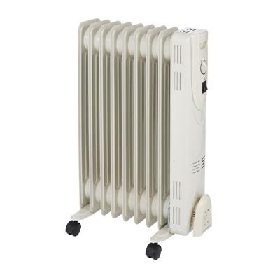 Radiateur bain d'huile à thermostat manuel 1 200 W