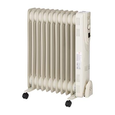 Radiateur bain d'huile à thermostat manuel 2 500 W