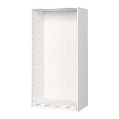 Caisson blanc darwin h.200,4 x l.100 x p.56,6 cm