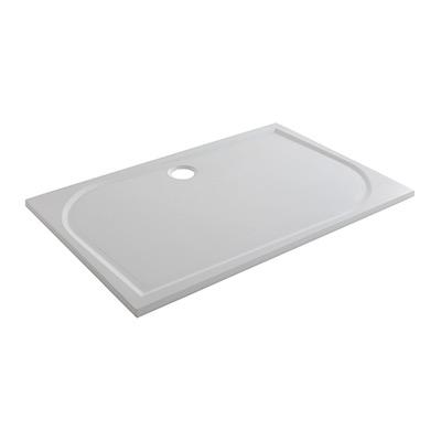 Receveur de douche rectangulaire extraplat L. 120 x l. 80 cm