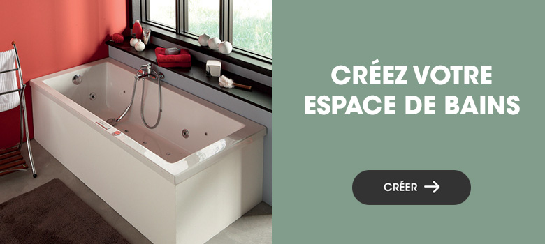 Créez votre espace bain