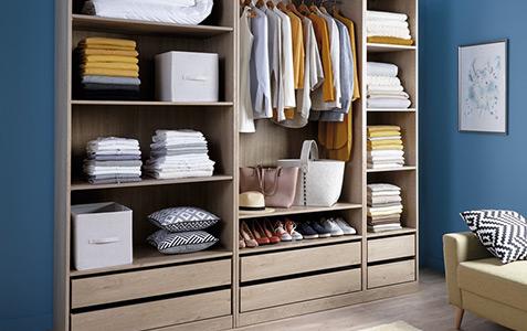 Composez Et Modulez Votre Dressing Brico Depot