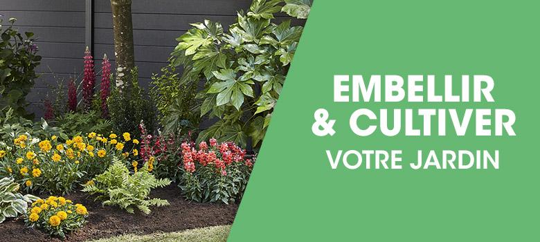 Embellir et cultiver votre jardin