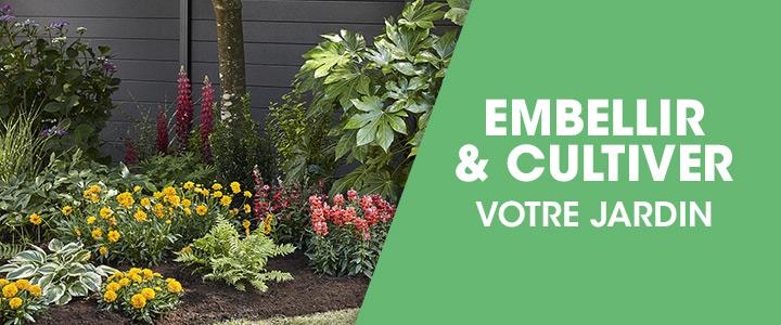 Embellir & cultiver votre jardin
