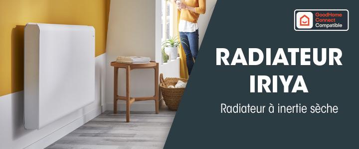 Radiateur Iriya à inertie sèche