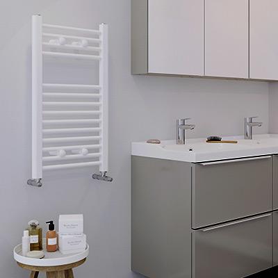 Sèche-serviette à eau chaude