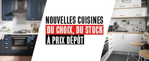 Nouvelles cuisines du choix du stock à prix dépôt.
