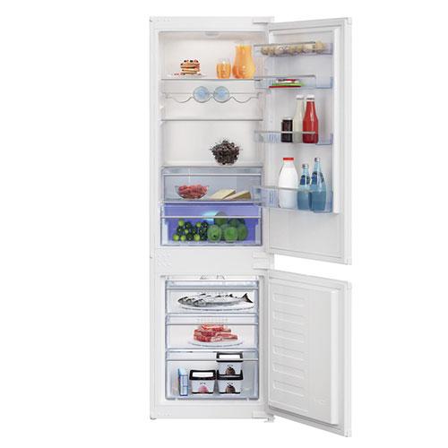 Réfrigérateur congélateur encastrable led 262 L Beko
