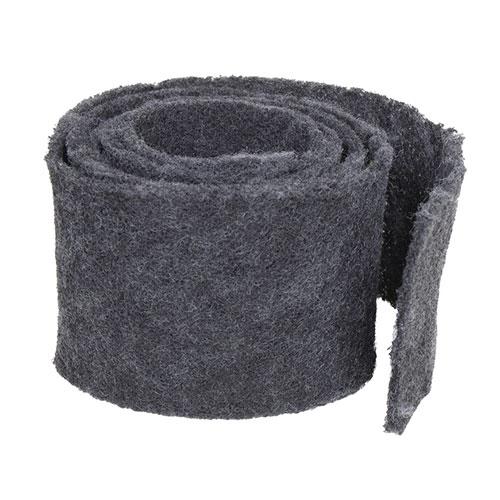 Filtre charbon pour plaque hotte intégrée