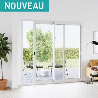 Notre gamme de porte-fenêtre et baie vitrée