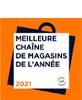 Meilleure chaîne de magasins de l'année 2021