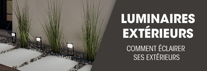 Luminaires extérieurs : comment éclairer l'extérieur de votre maison ?