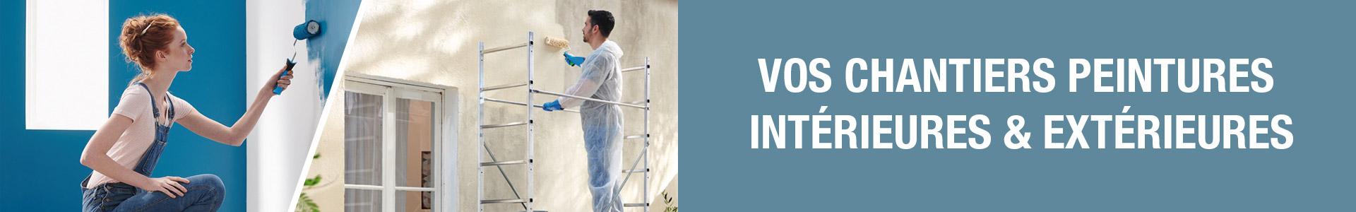 Vos chantiers peintures intérieur & extérieur