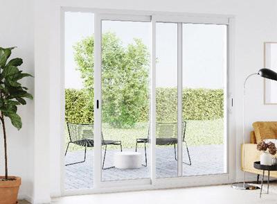 Portes-fenêtre et baies vitrées