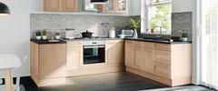 mod le de cuisine moderne et quip e brico d p t. Black Bedroom Furniture Sets. Home Design Ideas