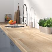 Plan de travail de cuisine: en bois, stratifié - Brico Dépôt