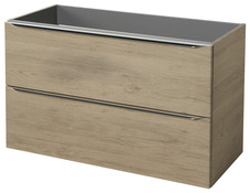 Plan vasque 100 cm, 90 cm & meuble bas - Brico Dépôt