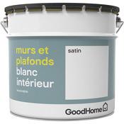 Peinture Blanche Pour Mur Plafond Blanc Mat Satiné