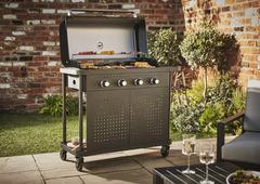 Barbecue gaz et charbon, plancha Brico Dépôt