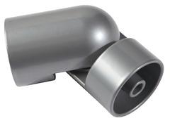 Poteau De Fixation A Plat Aluminium Haut 96 Cm Brico Depot