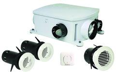vmc simple double flux hygror glable distribution air chaud brico d p t. Black Bedroom Furniture Sets. Home Design Ideas