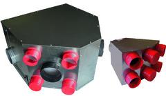 Vmc Simple Double Flux Hygroréglable Distribution Air