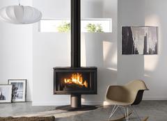 po le bois po le p trole granul s pellets brico. Black Bedroom Furniture Sets. Home Design Ideas