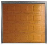 Parfait Porte De Garage Sectionnelle Motorisée En Acier H. 200 Cm L. 240 Cm Plaxé