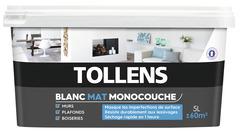 Peinture Blanche Pour Mur Plafond Blanc Mat Satiné Brico Dépôt