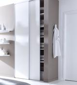 Porte de placard coulissante & battante | Dressing & Rangement ...