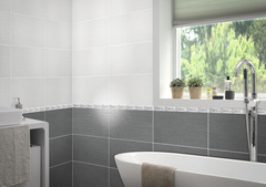 Faïence & carrelage mural - Salle de bain et cuisine - Brico ...