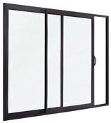 baie vitr e coulissante galandage en aluminium brico d p t. Black Bedroom Furniture Sets. Home Design Ideas