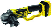 MEULEUSE D'ANGLE 125 MM 4 AH - STANLEY FATMAX