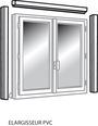Accessoires pour fen tres magasin de bricolage brico d p t for Porte fenetre pvc 215x180