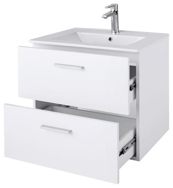 L Ensemble Slapton L 60 Cm Meuble Plan Vasque Miroir Eclairant Brico Depot