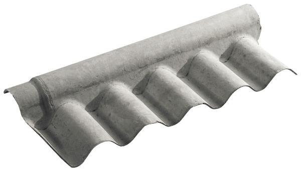 Fa ti re grise 97x22cm brico d p t - Peinture pour toiture fibro ciment brico depot ...