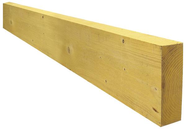 Madrier trait en bois r sineux 75x225 mm 4 m brico d p t for Bois traite classe 2